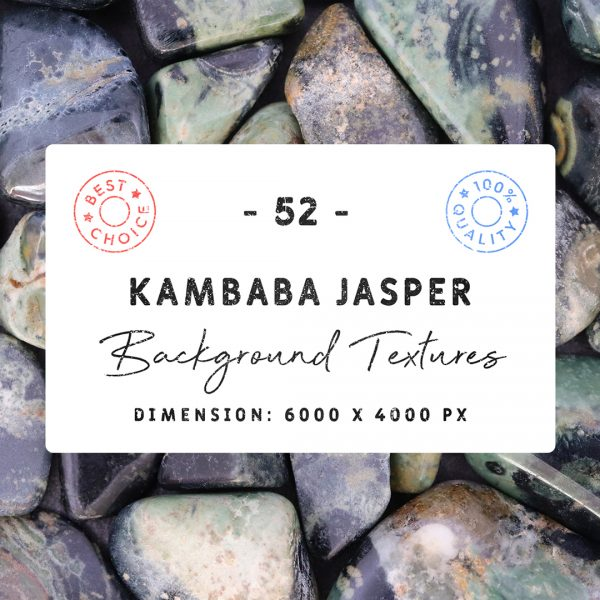 Kambaba Jasper Background Textures Square Cover Preview
