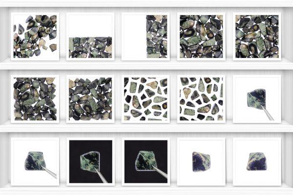 Kambaba Jasper Background Textures Showcase Shelves Samples Preview