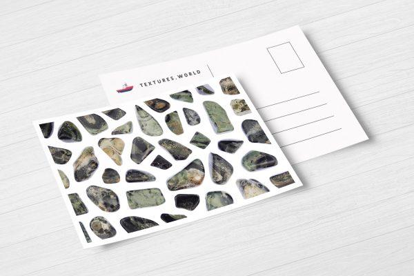 Postcard Kambaba Jasper Background Textures Modern Poster Preview