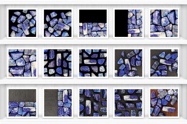 Lapis Lazuli Background Textures Showcase Shelves Samples Preview