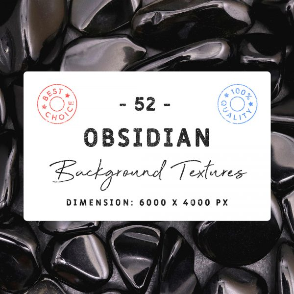 Obsidian Background Textures Square Cover Preview