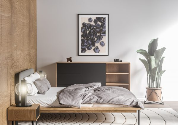 Bedroom Obsidian Background Textures Modern Poster Preview