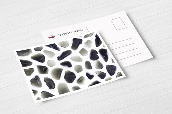 Postcard Obsidian Background Textures Modern Poster Preview