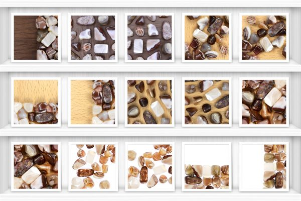 Persian Agate Background Textures Showcase Shelves Samples Preview