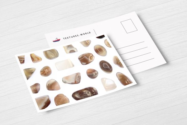 Postcard Persian Agate Background Textures Modern Poster Preview