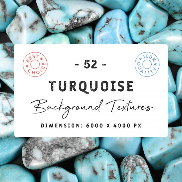 Turquoise Background Textures Square Cover Preview