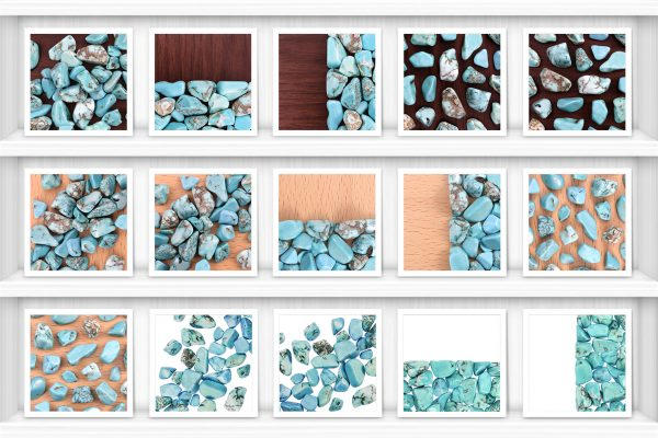 Turquoise Background Textures Showcase Shelves Samples Preview
