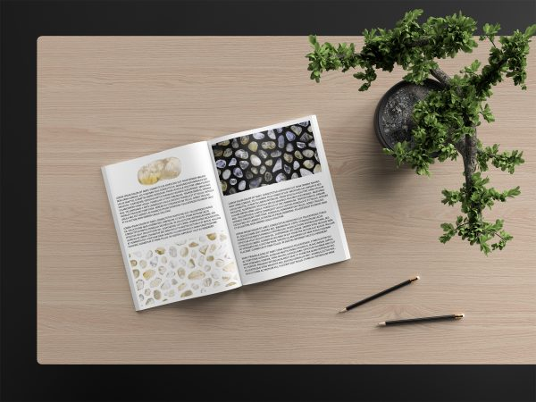 Citrine Background Textures Modern Magazine Article Illustrations Preview