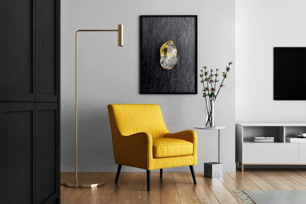 Living Room Citrine Background Textures Modern Poster Preview