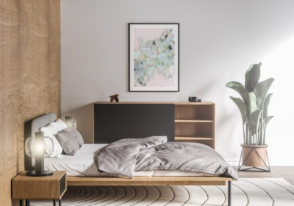 Bedroom Prehnite Background Textures Modern Poster Preview