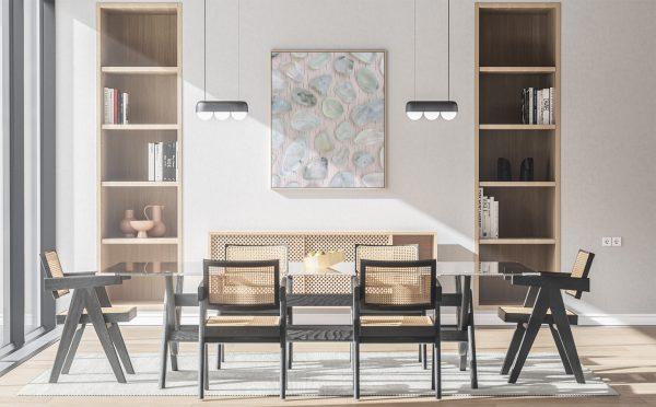 Kitchen & Dining Prehnite Background Textures Modern Poster Preview