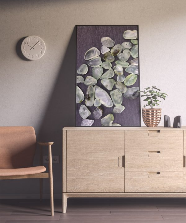 Entryway Prehnite Background Textures Modern Poster Preview