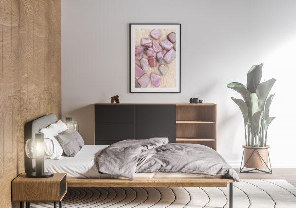 Bedroom Rhodochrosite Background Textures Modern Poster Preview