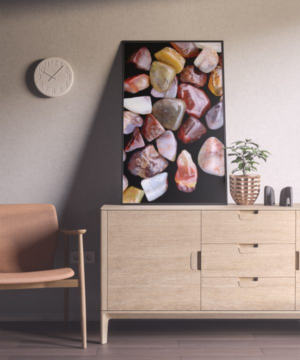 Entryway Yanyuan Agate Background Textures Modern Poster Preview