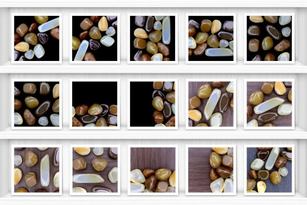 Yellow Agate Background Textures Showcase Shelves Samples Preview