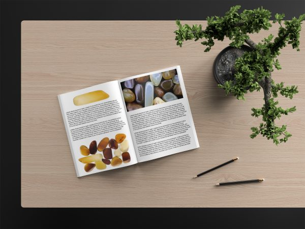 Yellow Agate Background Textures Modern Magazine Article Illustrations Preview