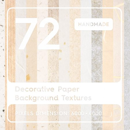 Decorative Paper Background Textures Square Cover Preview