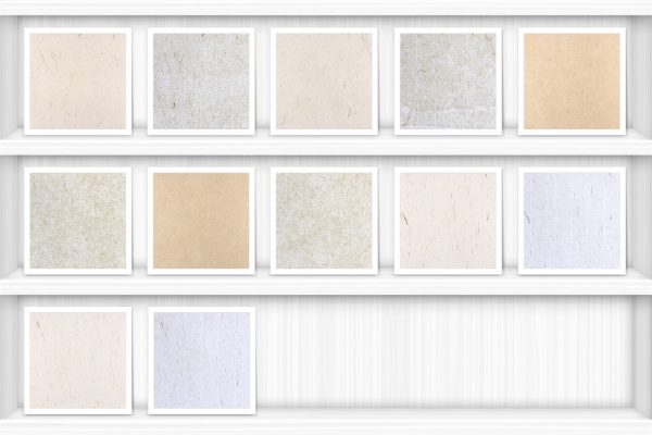 Decorative Paper Background Textures Showcase Shelves Samples Preview