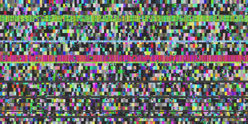 Seamless Error Glitch Backgrounds 5