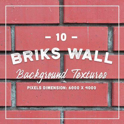 10 Bricks Wall Textures
