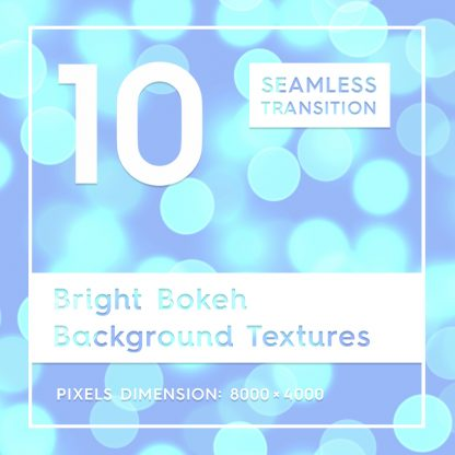 10 Bright Bokeh Backgrounds