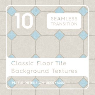 10 Seamless Classic Floor Tile Background Textures