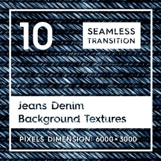10 Jeans Denim Background Textures