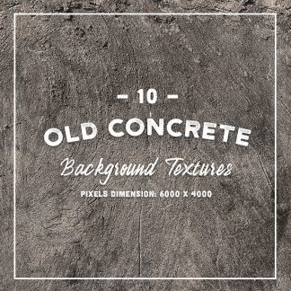 10 Old Concrete Textures
