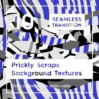 10 Seamless Prickly Scraps Backgrounds