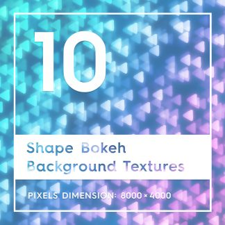 10 Shape Bokeh Backgrounds