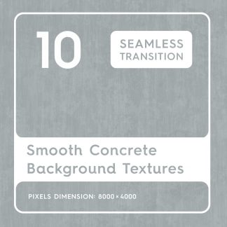 10 Smooth Concrete Textures