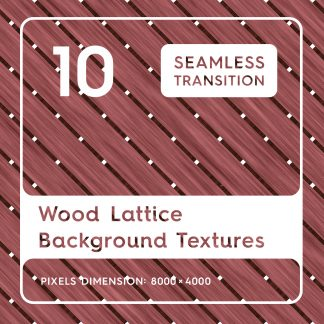 10 Wood Lattice Backgrounds