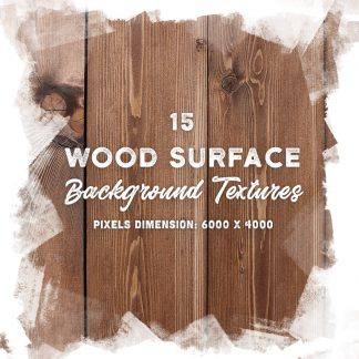 15 Wood Surface Textures