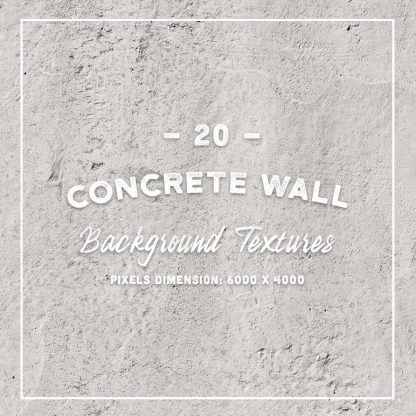 20 Concrete Wall Background Textures