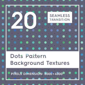 20 Dots Pattern Background Textures