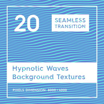 20 Seamless Hypnotic Waves Background Textures