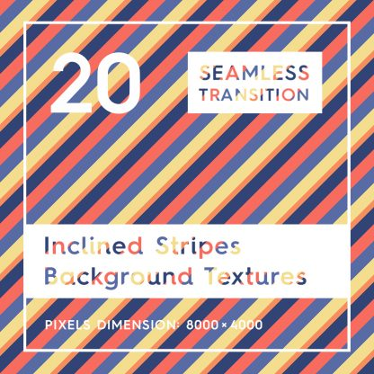 20 Seamless Inclined Stripes Background Textures