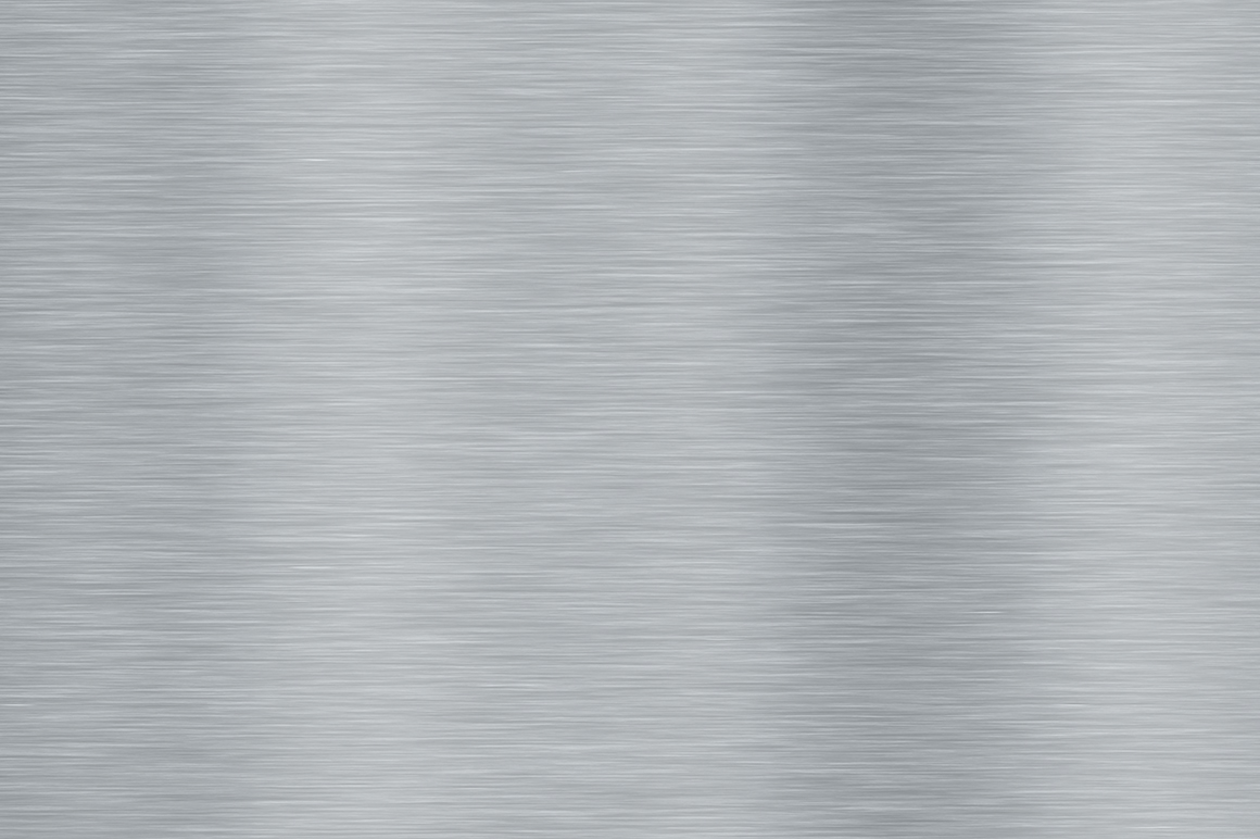 Aluminum shiny polished seamless sheet textures. Stainless brushed metal background material.