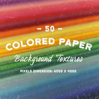 50 Colored Paper Textures