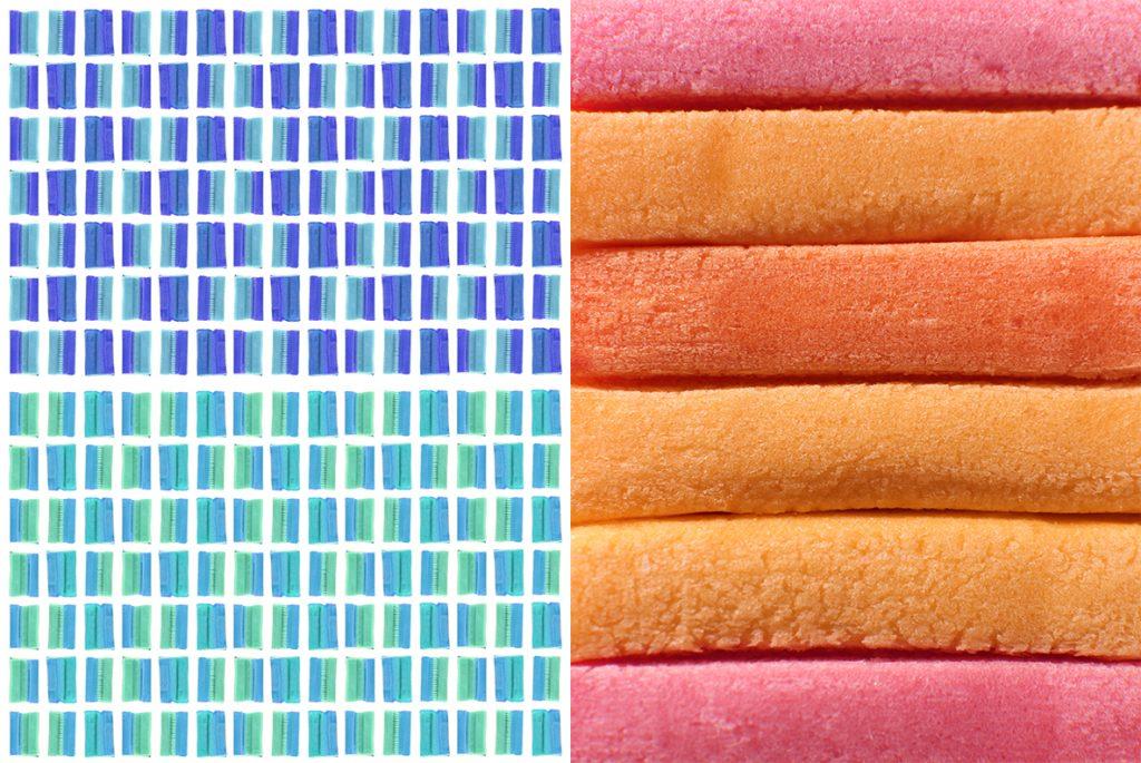 20 Bubble Gum Textures