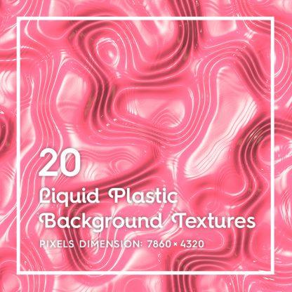 20 Liquid Plastic Backgrounds
