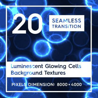 20 Luminescent Cells Backgrounds