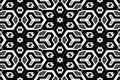 20 Monochrome Geometric Backgrounds Preview Set