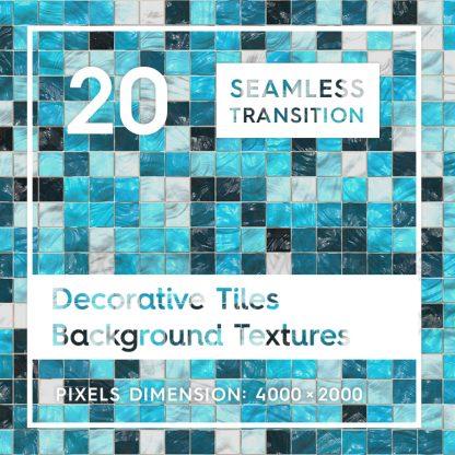 20 Decorative Tiles Backgrounds