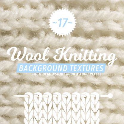 17 Wool Knitting Textures
