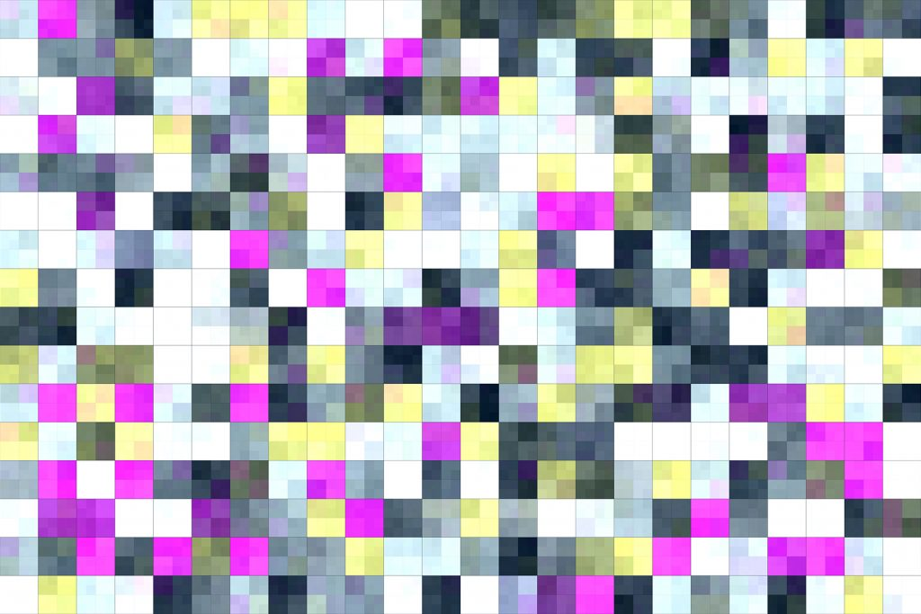 Bright Tiling Colored Squares. Colorful mosaic texture. Bright filling geometric backdrop. Seamless Backgrounds.