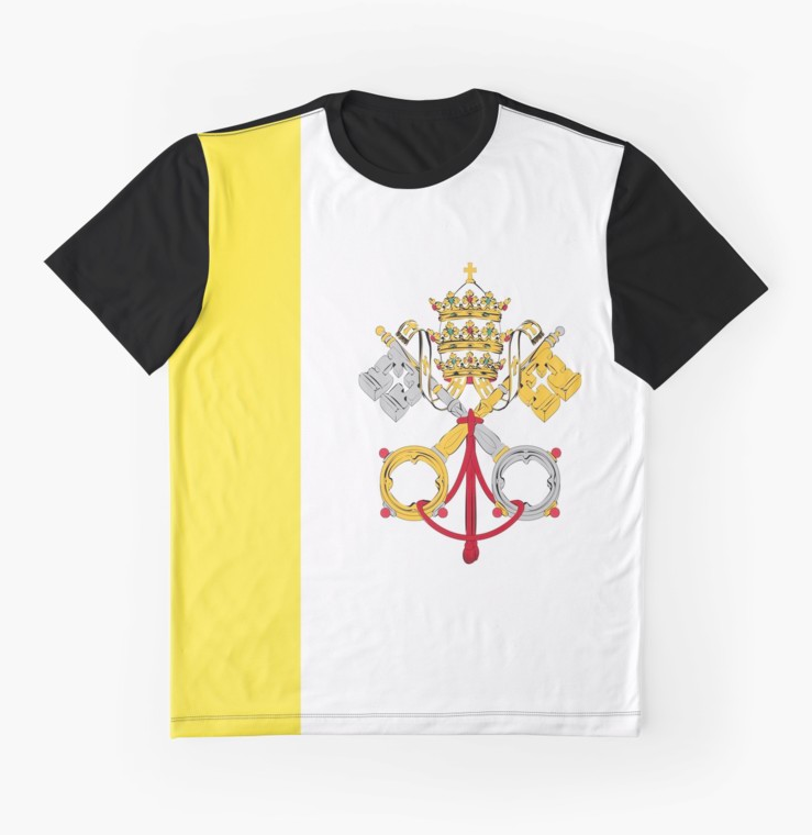Vatican City Holy See T-shirt