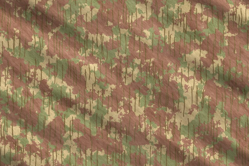 Forest Army Camouflage Background. Military Camo Clothing Texture. Seamless Combat Uniform.
