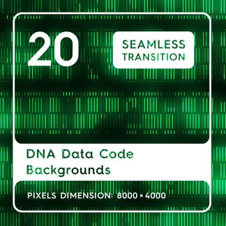 20 DNA Data Code Backgrounds