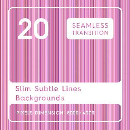 20 Slim Subtle Lines Backgrounds